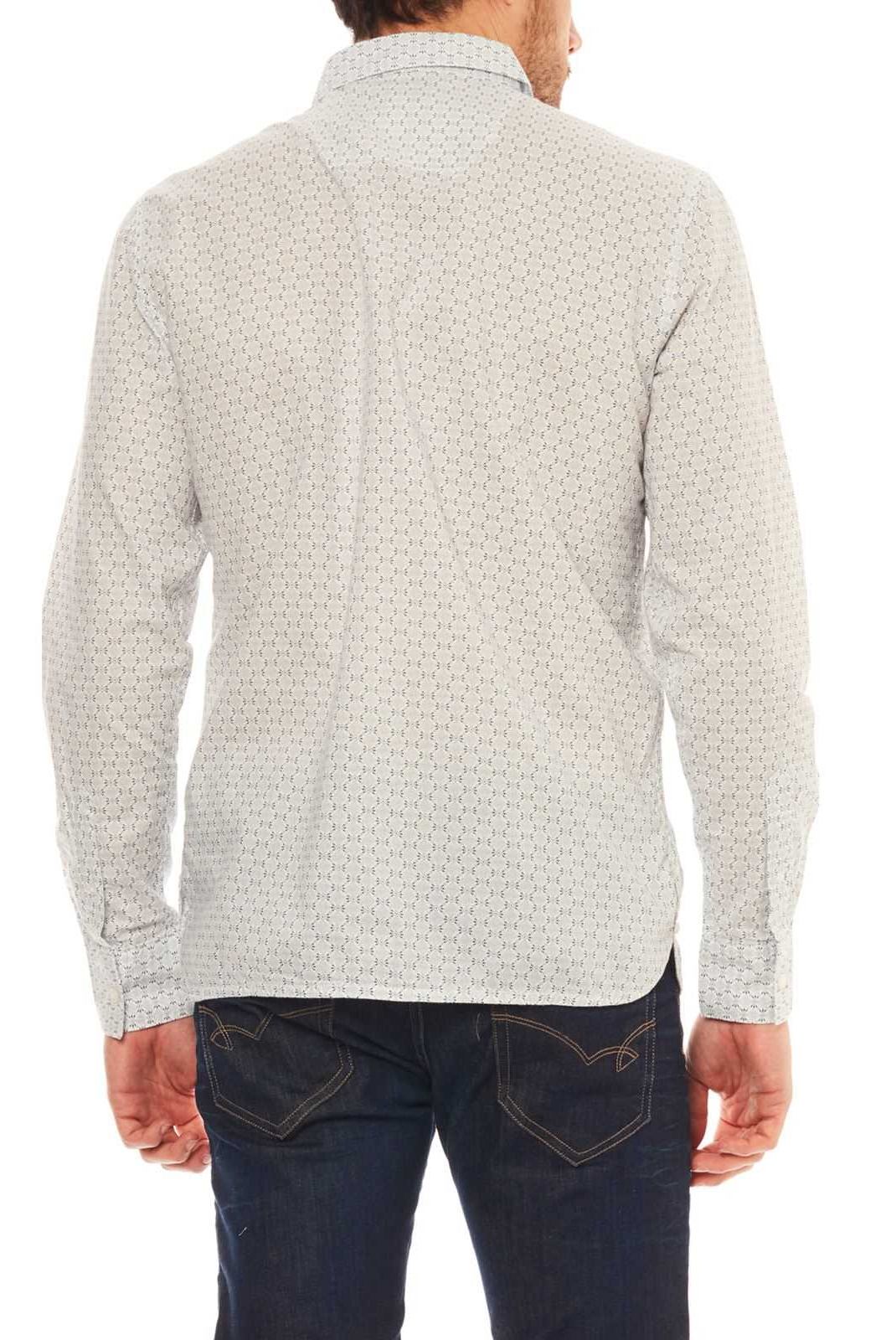 Chemises manches longues  Kaporal PADIM WHITE