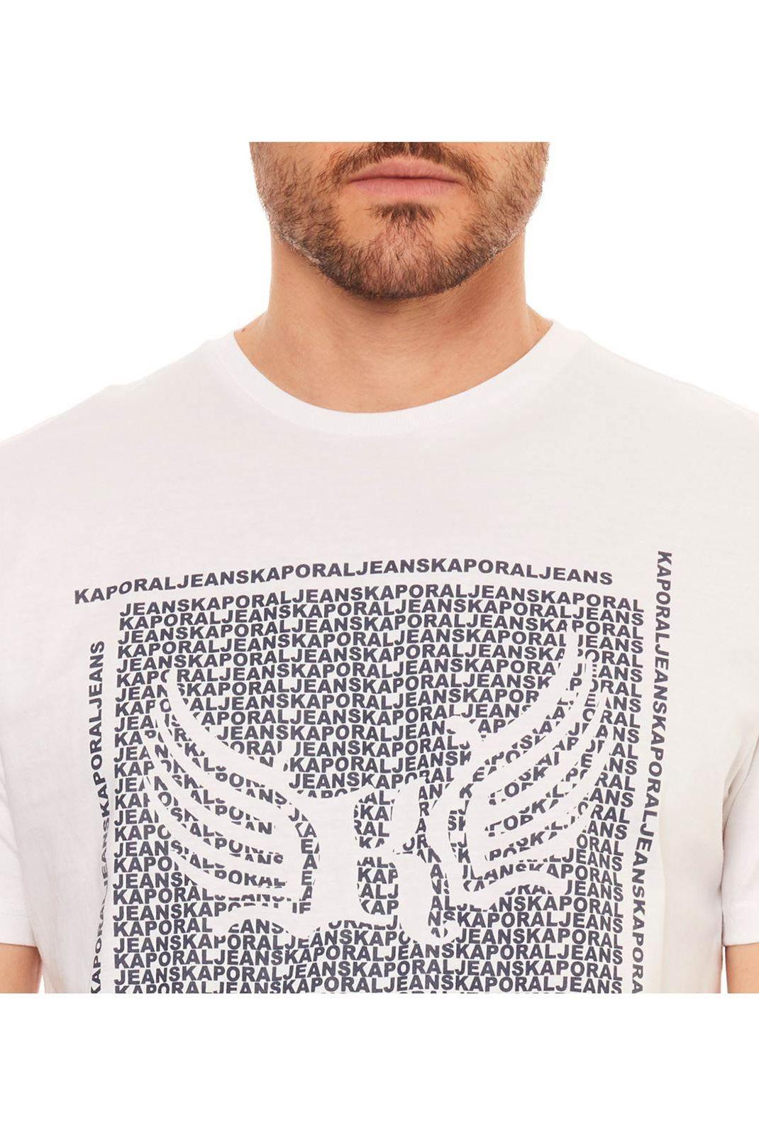 Tee-shirts  Kaporal PASTO WHITE