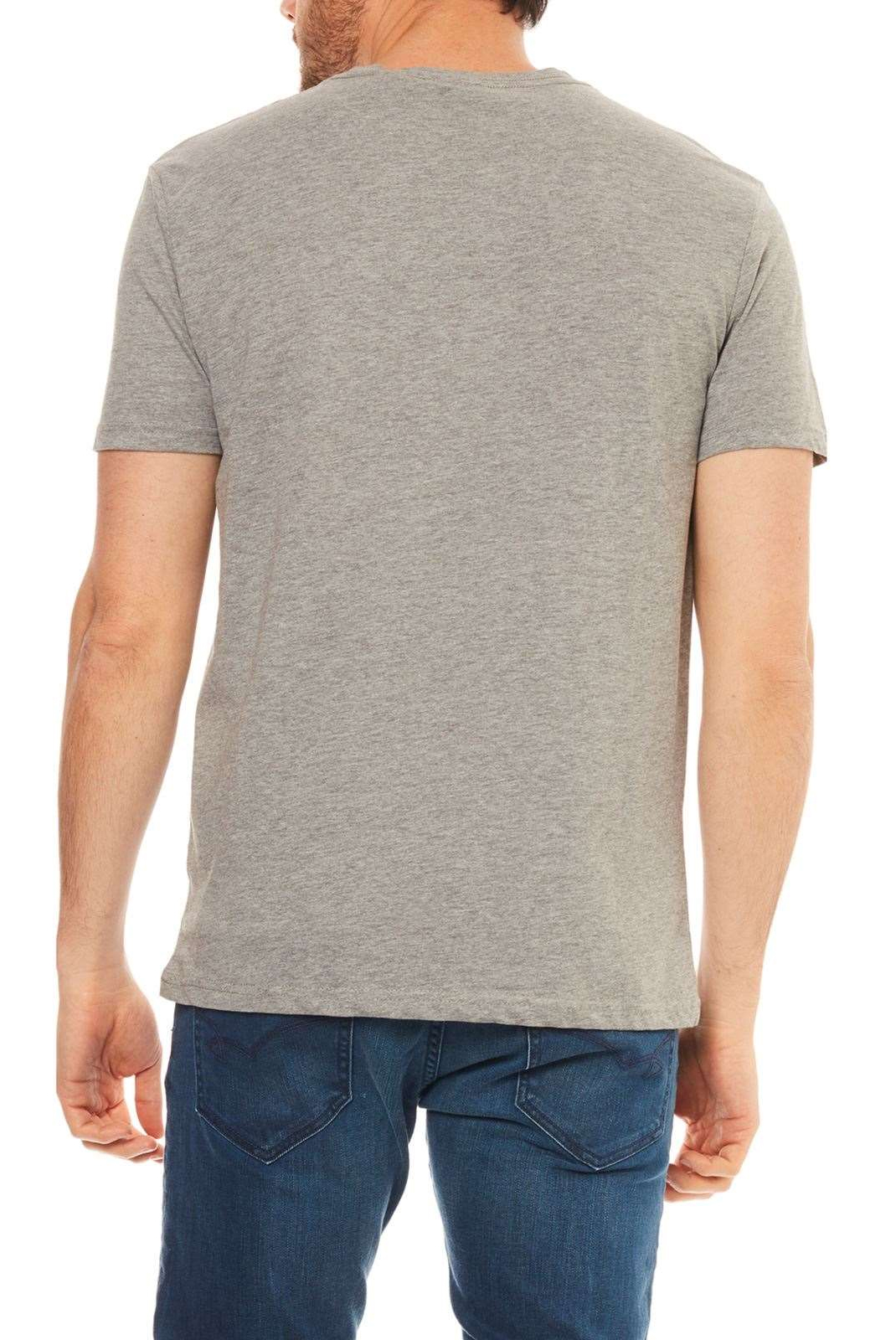 Tee-shirts  Kaporal POGGO MEDIUM GREY MEL