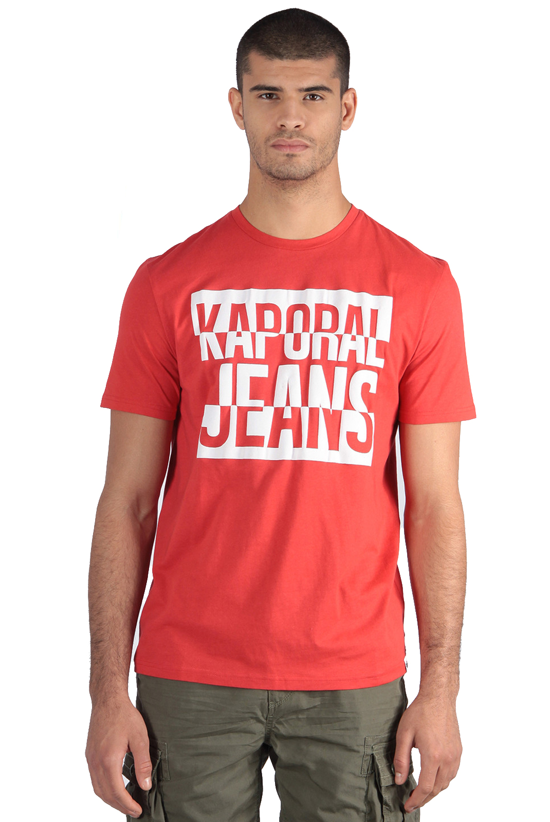 Tee-shirts  Kaporal POGGO RED