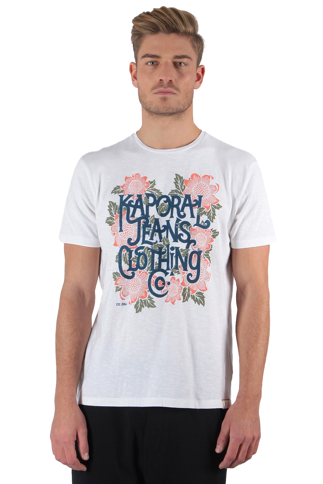 Tee-shirts  Kaporal PONEK WHITE