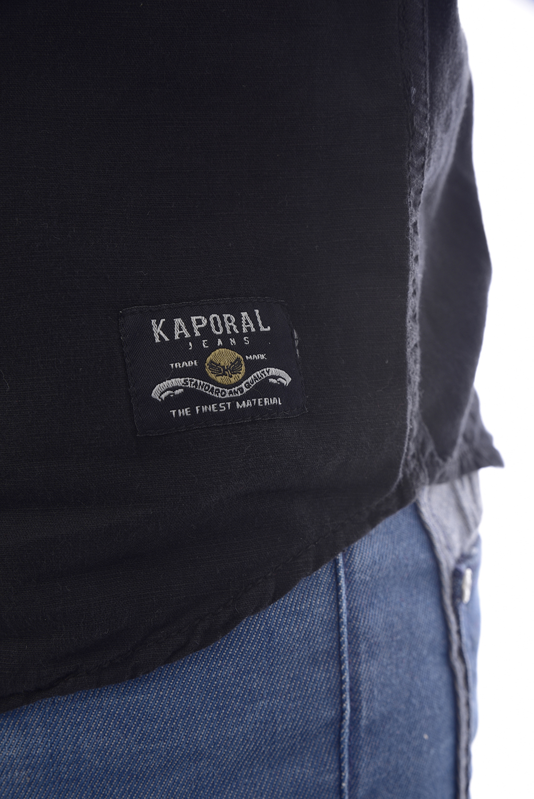 Chemises manches courtes  Kaporal PALAO BLACK