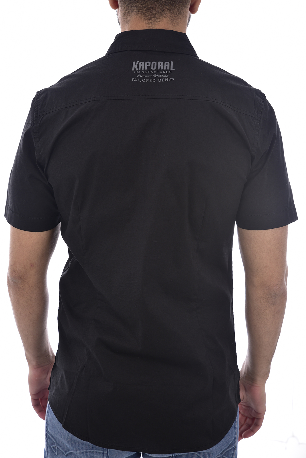 Chemises manches courtes  Kaporal MOGI BLACK