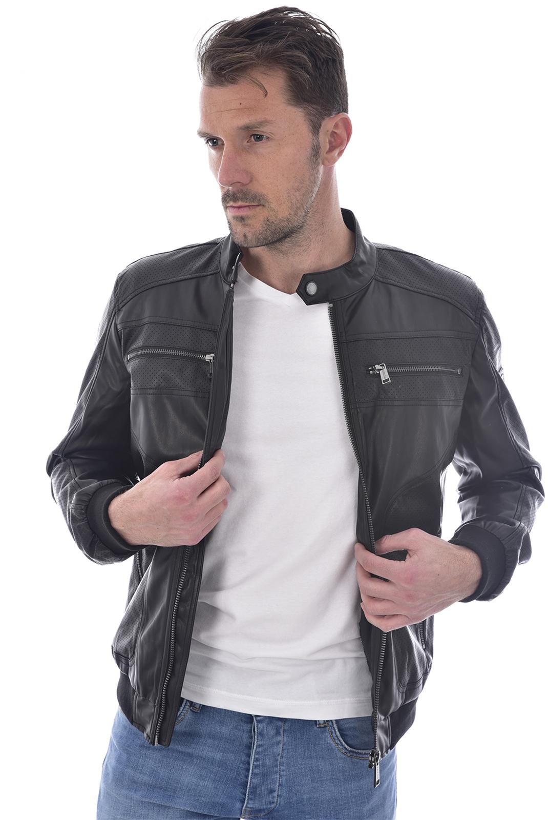 Blousons / doudounes  Guess jeans M92L18 WBFT0 JBLK