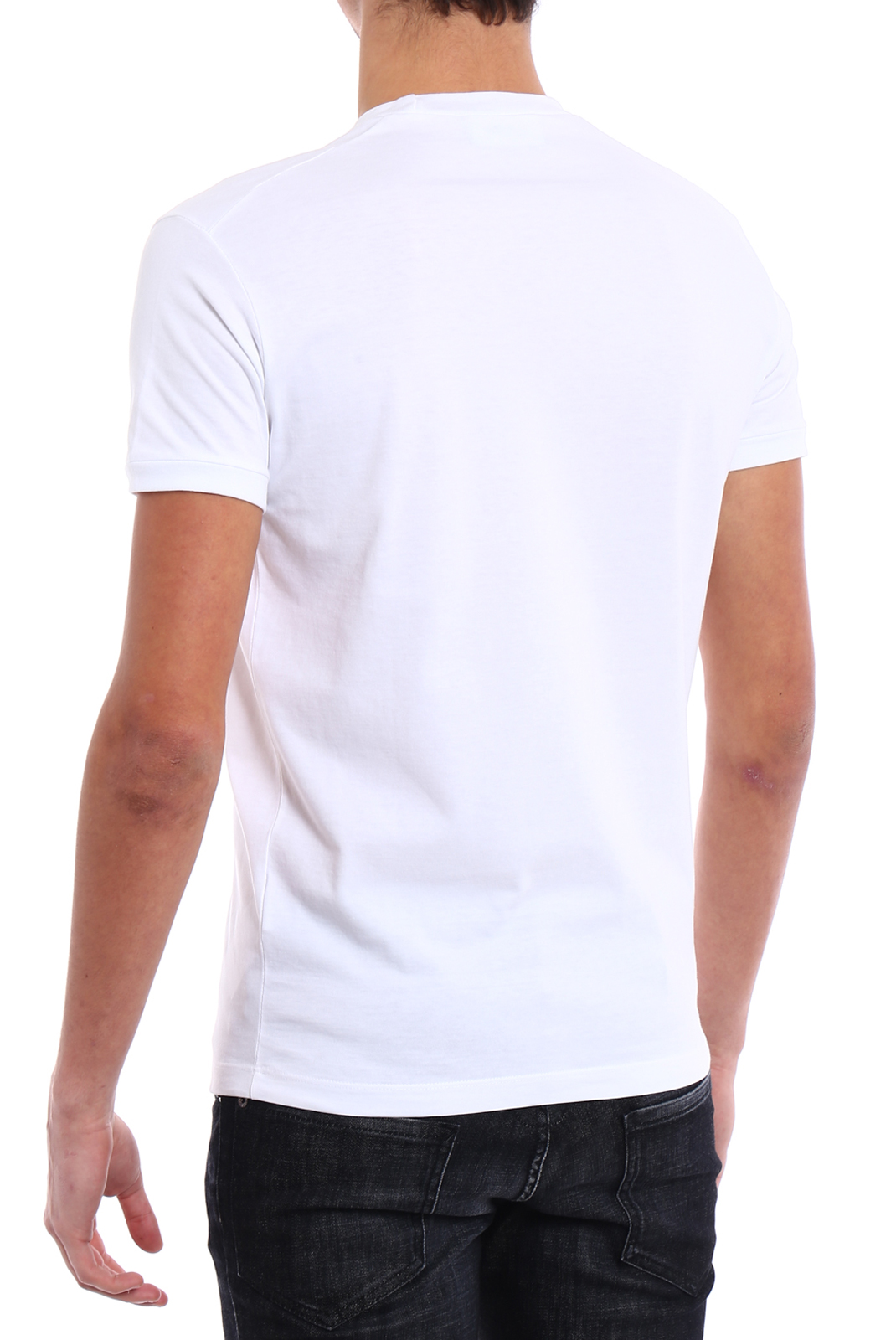 T-S manches courtes  Dsquared2 S74GD0379 100 WHITE