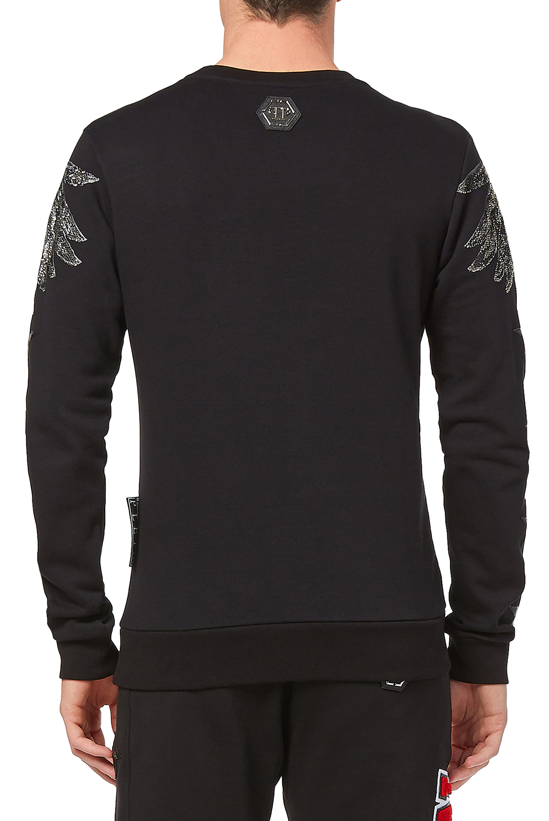 Sweatshirts  Philipp plein MJO0291 SONG 02 BLACK