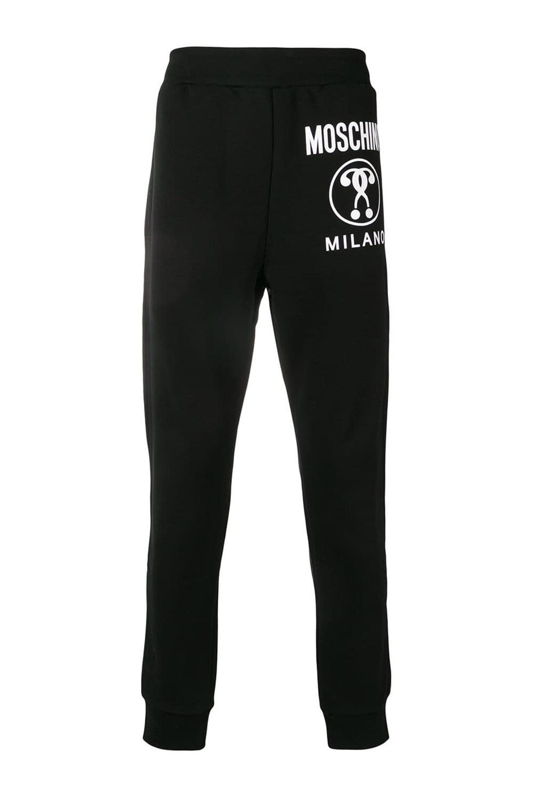 Pantalons  Moschino ZJ0321 5227 1555 NOIR/BLANC
