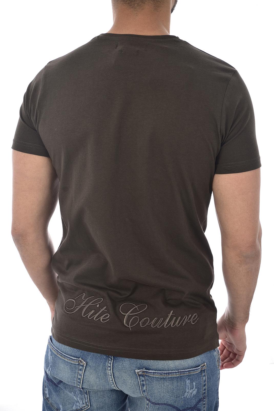 T-S manches courtes  Hite couture MIDAKIL DK KAKI