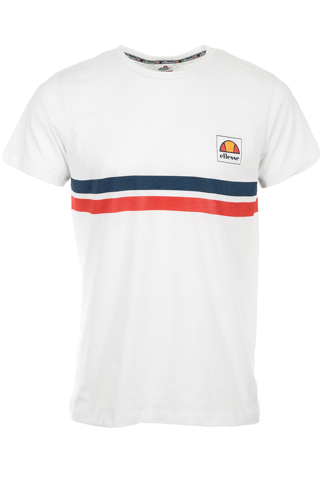 HOMME  Ellesse EH H TMC RAYURES WHITE/RED/NAVY