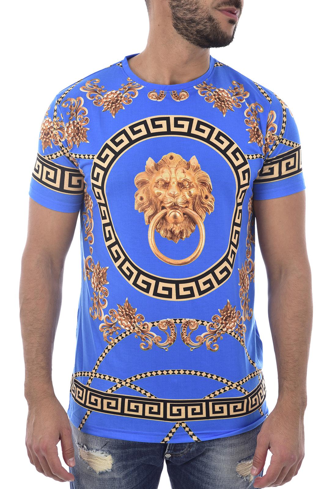 T-S manches courtes  Hite couture MOULETA BLUE
