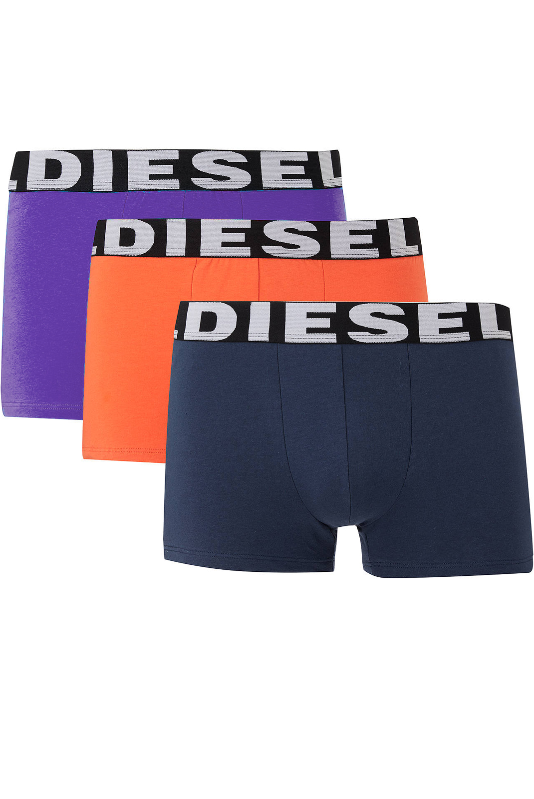 Slips-Caleçons  Diesel SHAWN 0AAMT ROUGE/VIOLET/GRIS