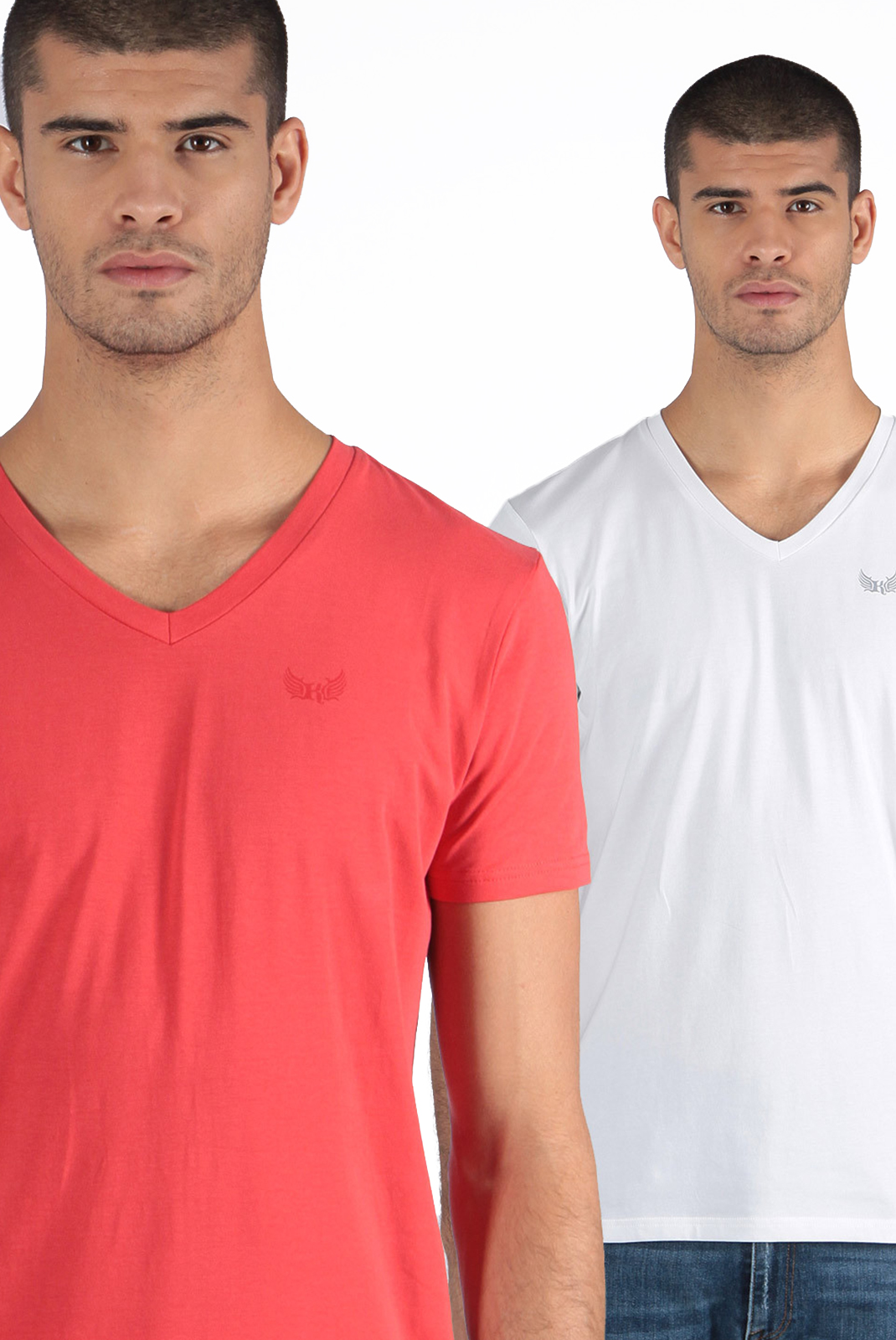 T-S manches courtes  Kaporal GIFT REDWHI