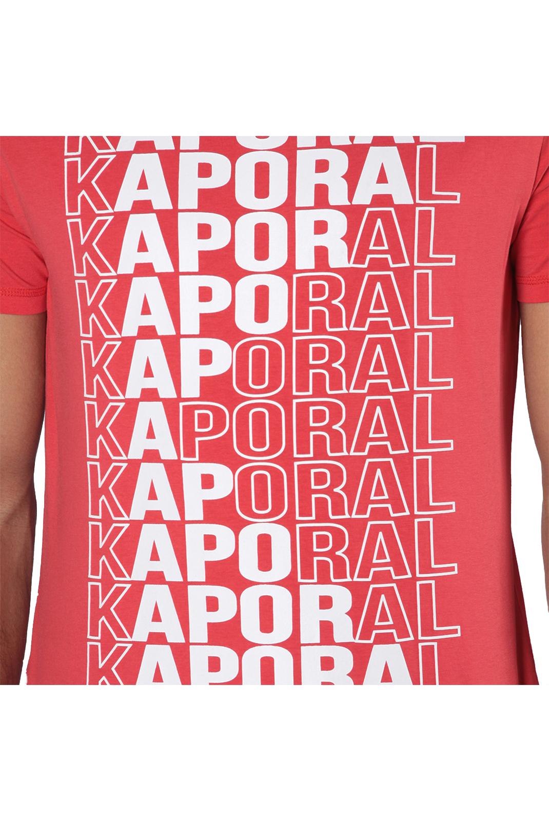 Tee-shirts  Kaporal MAVID RED