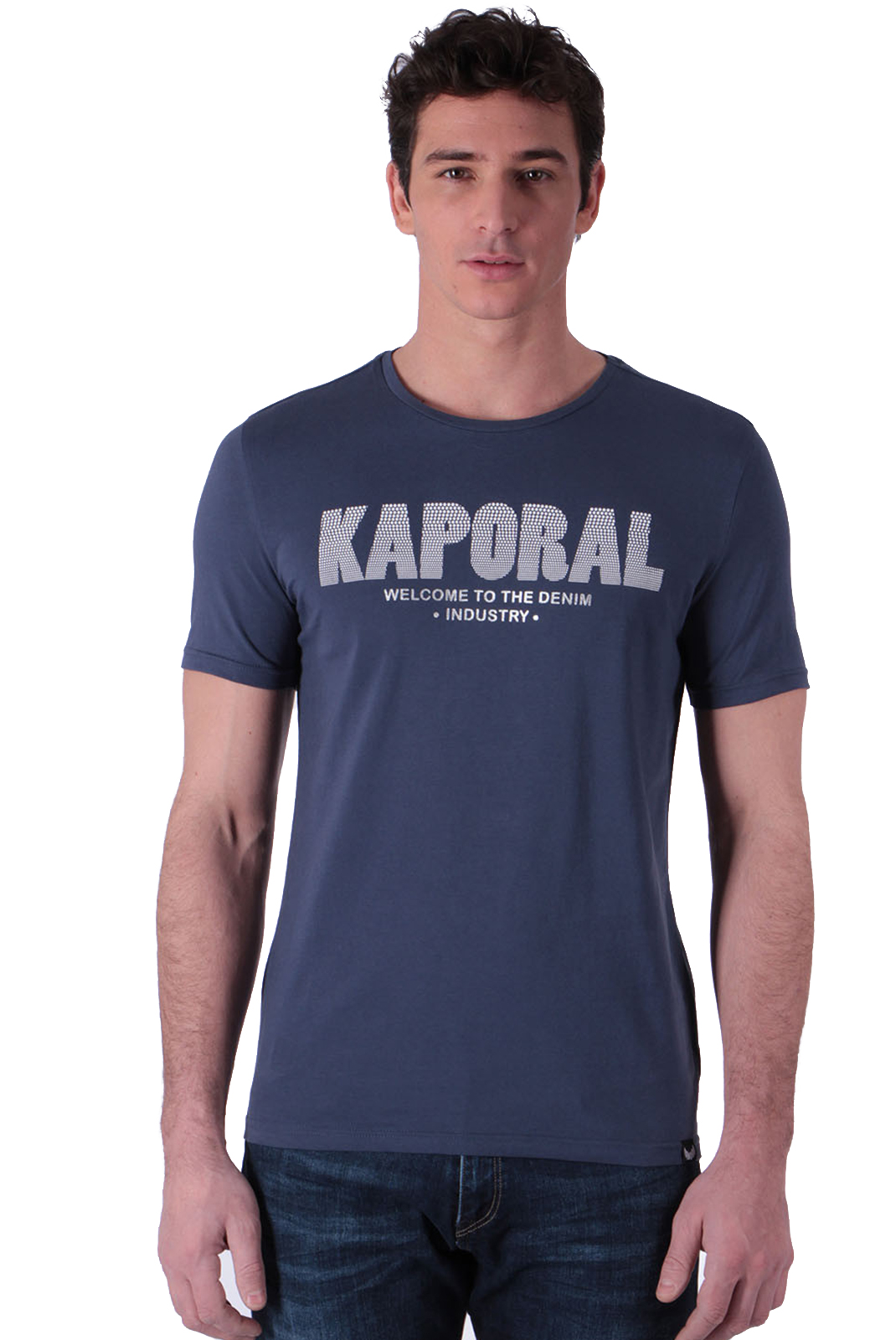 T-S manches courtes  Kaporal NIYOO BLUE US
