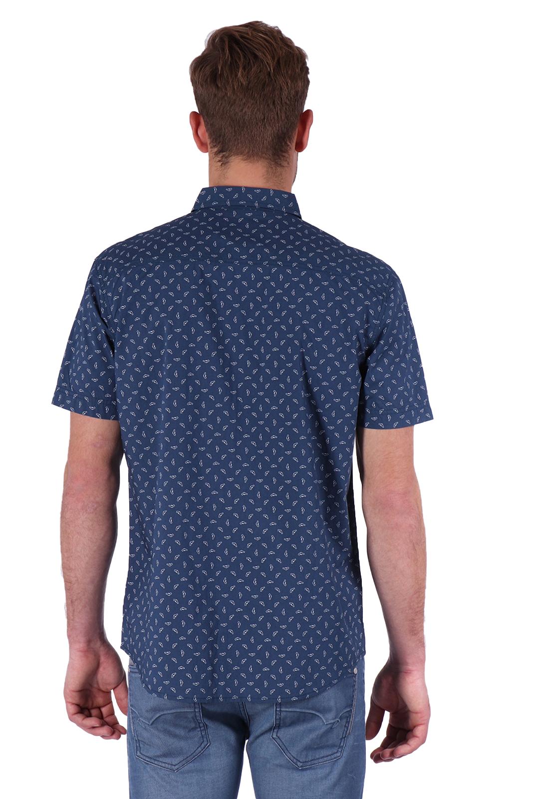 Chemises manches courtes  Kaporal PAN BLUE US