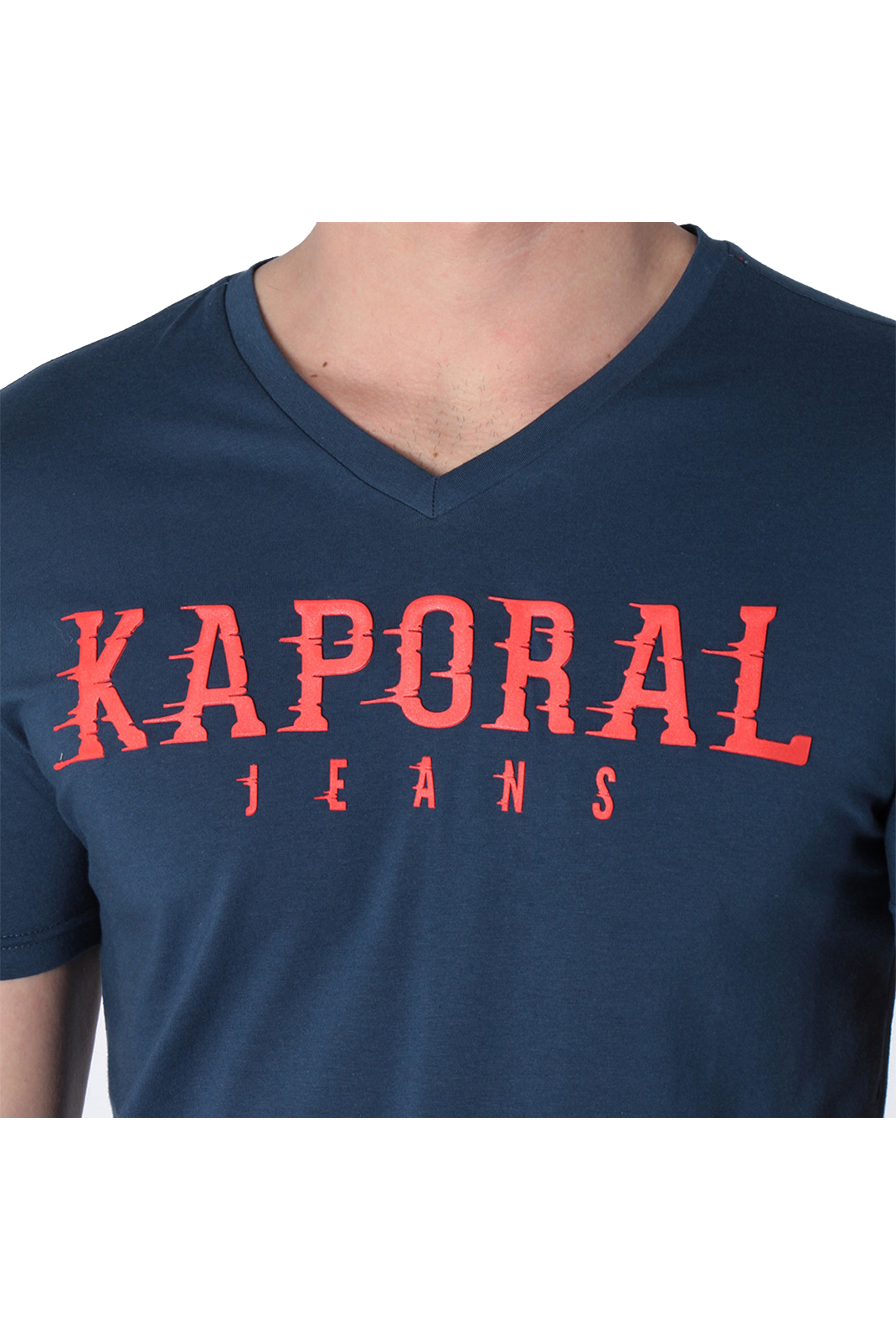 Tee-shirts  Kaporal PAZIK BLUE US