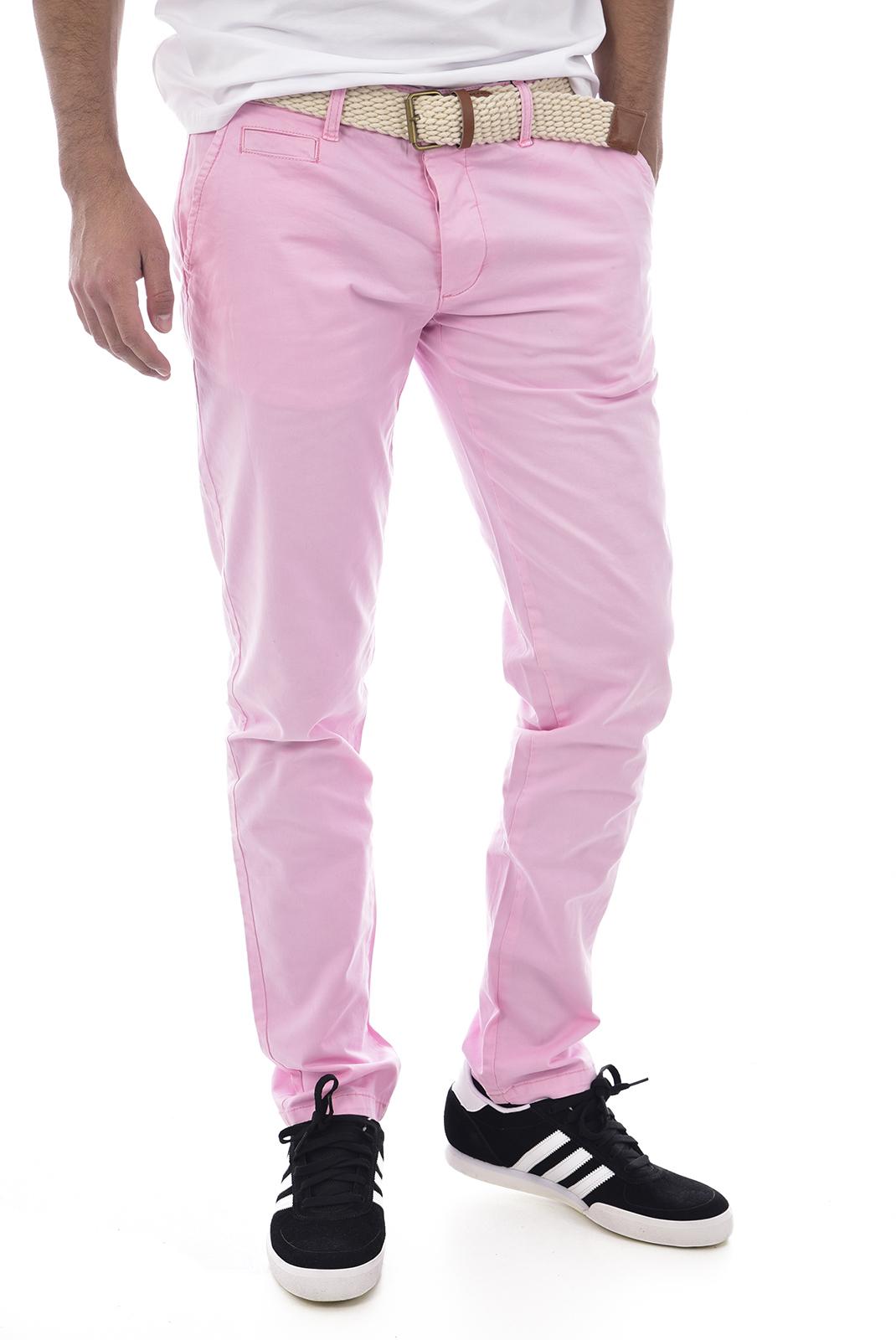 Pantalons chino/citadin  Backlight ALLEN VIEUX ROSE