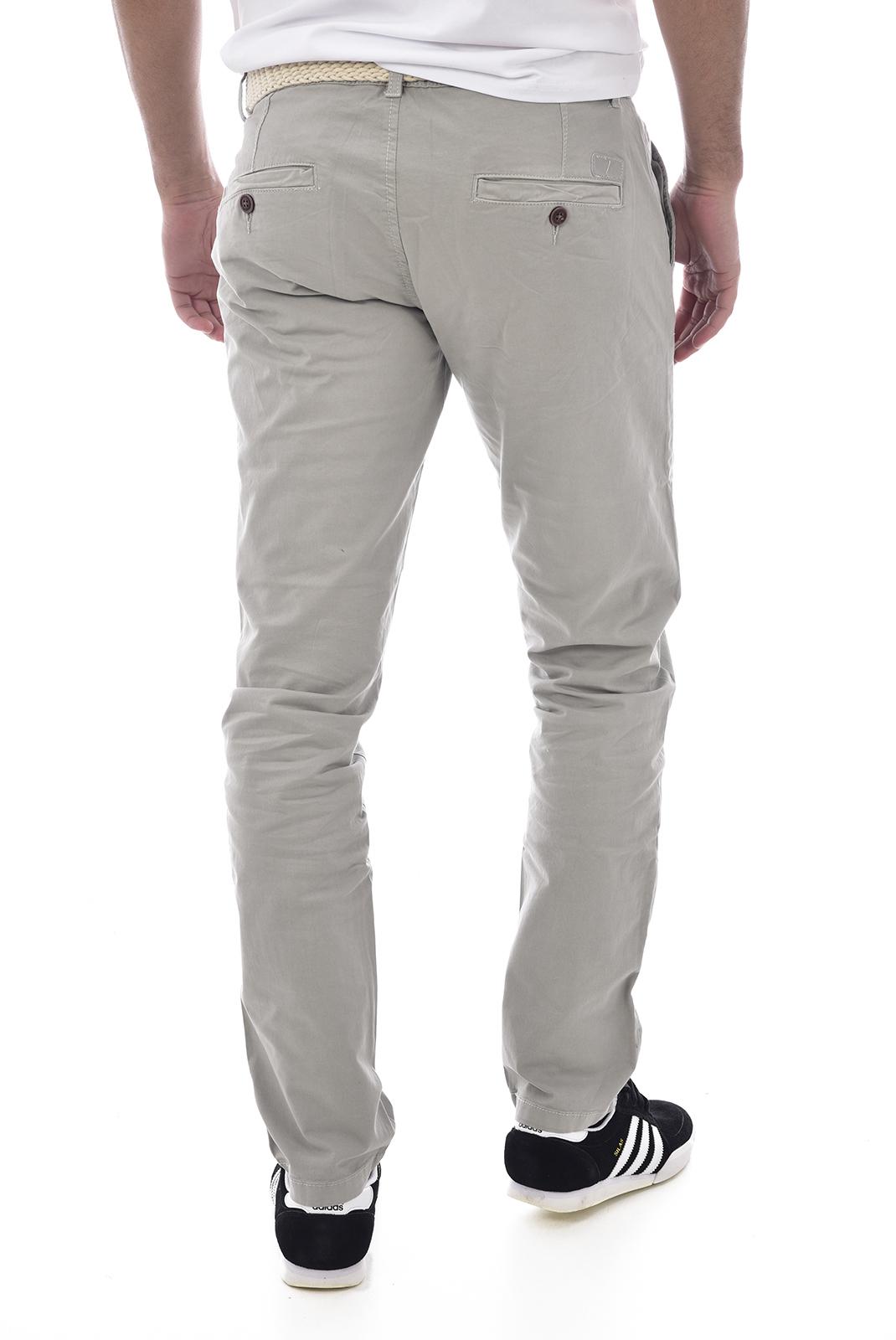 Pantalons chino/citadin  Backlight ALLEN GREY