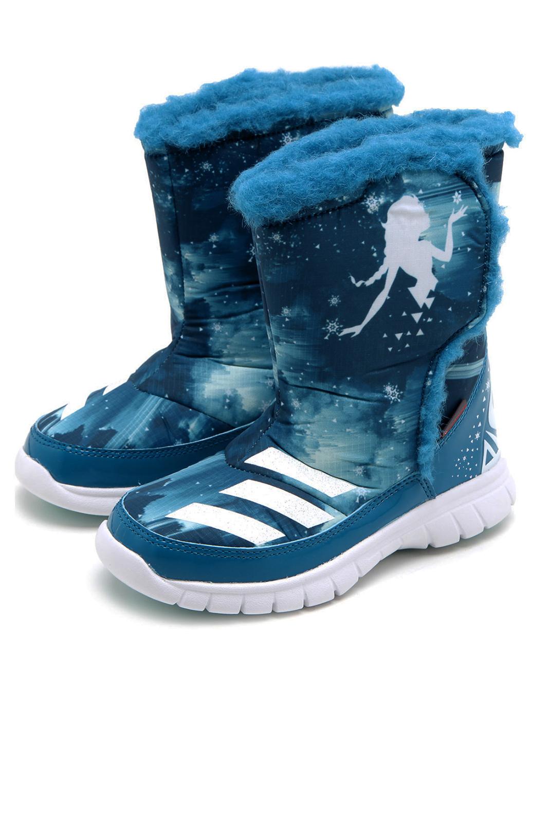 Chaussures  Adidas AQ3653 DISNEY FROZEN MID BLEU