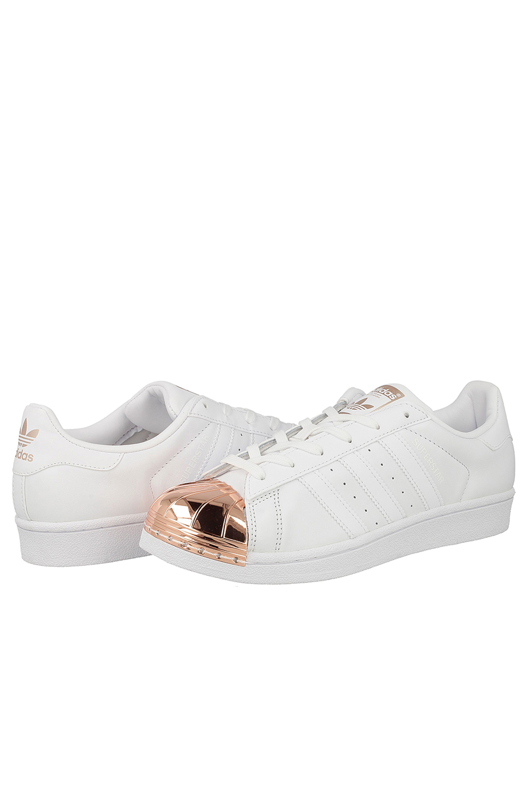 Baskets / Sneakers  Adidas BY2882 SUPERSTAR METAL TOE BLANC
