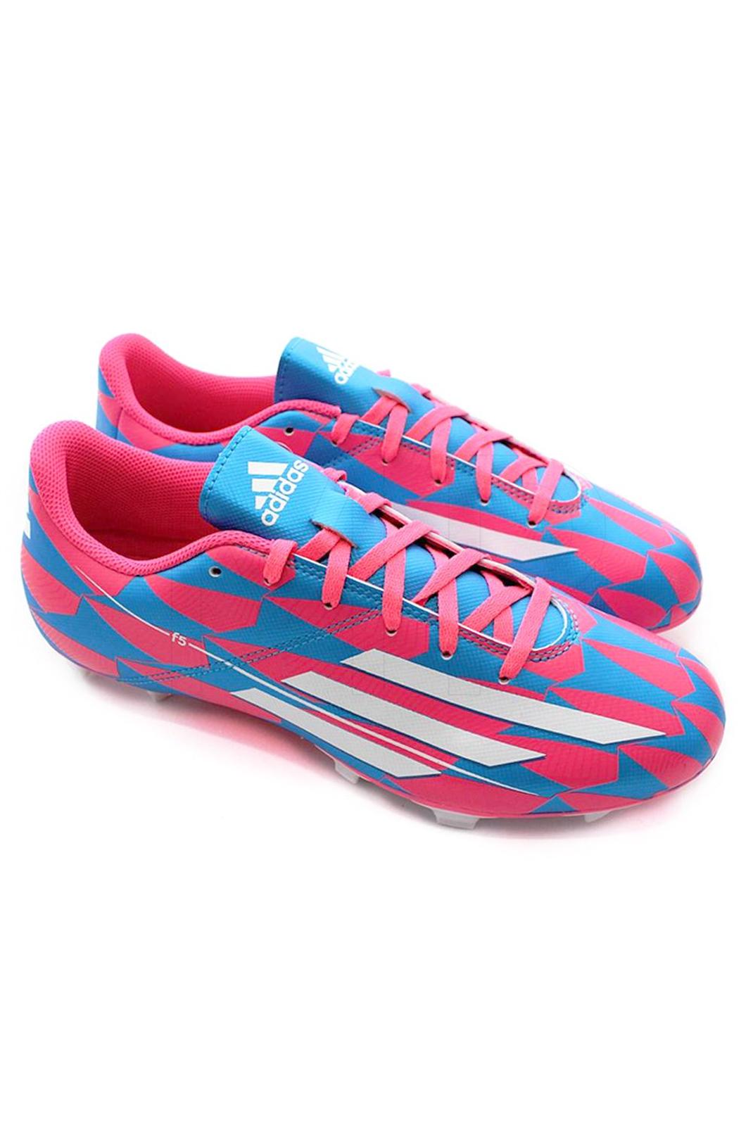 Chaussures  Adidas M17673 F5 FG J PINK / MULTI