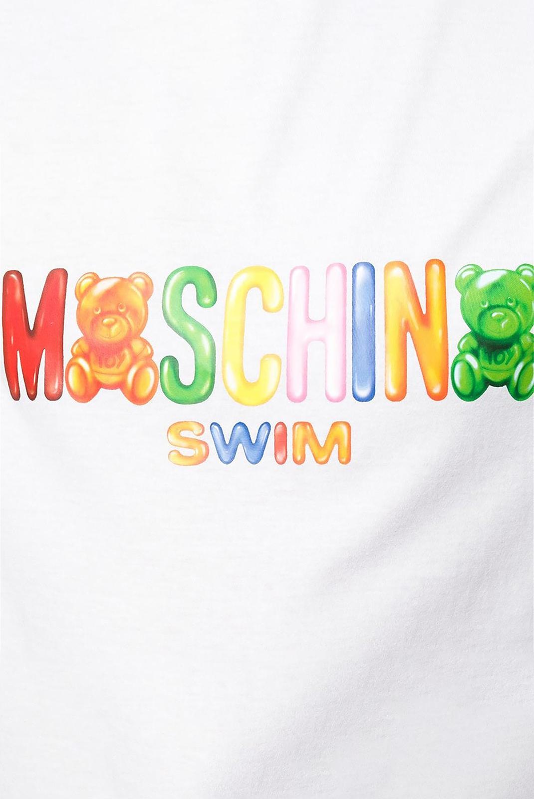 Tee-shirts  Moschino 3A1910 001 WHITE