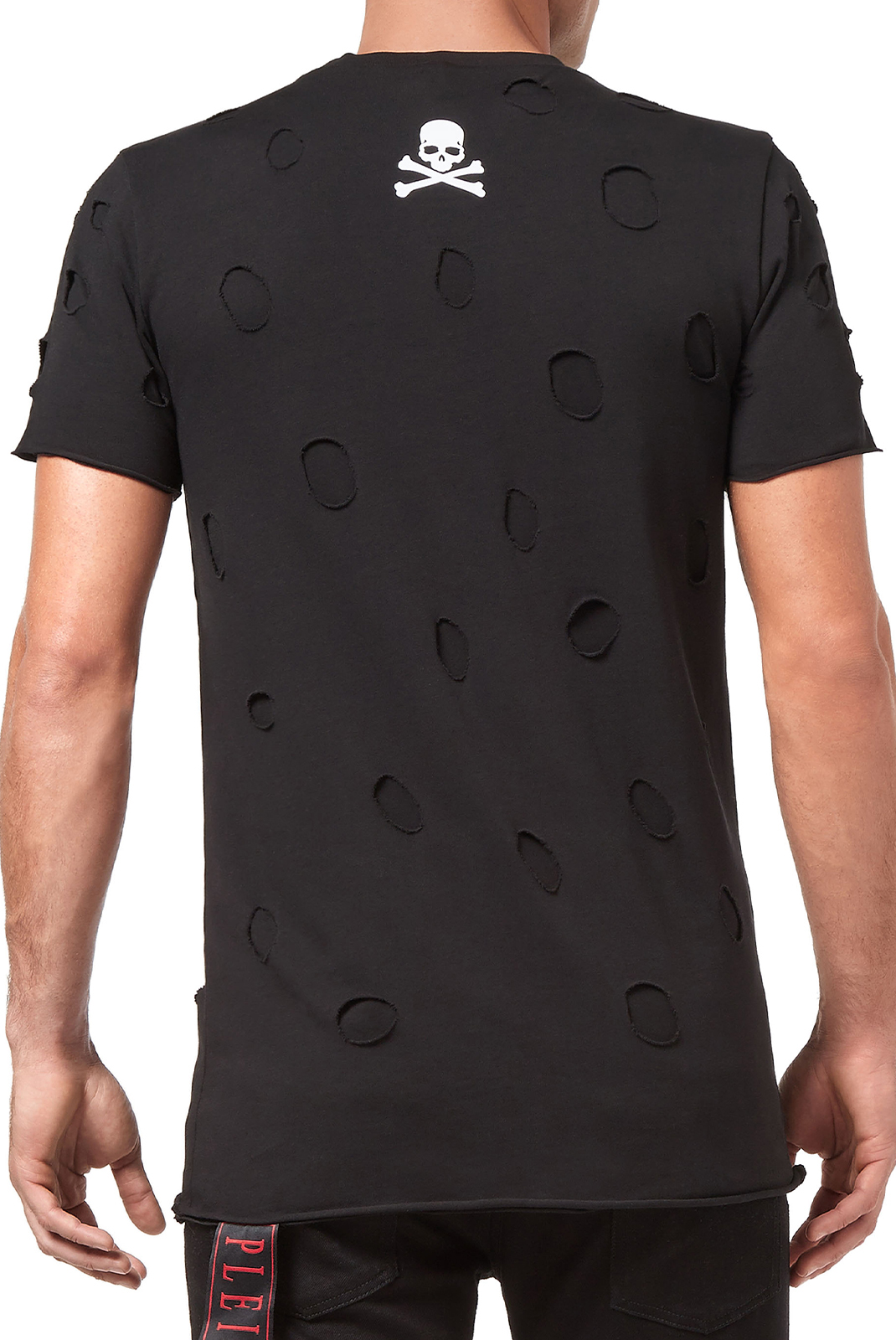 Tee-shirts  Philipp plein MTK2482 Round neck ss fresh BLACK