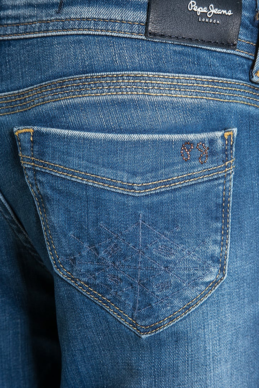 Bas  Pepe jeans PG200498 groovy BLEU