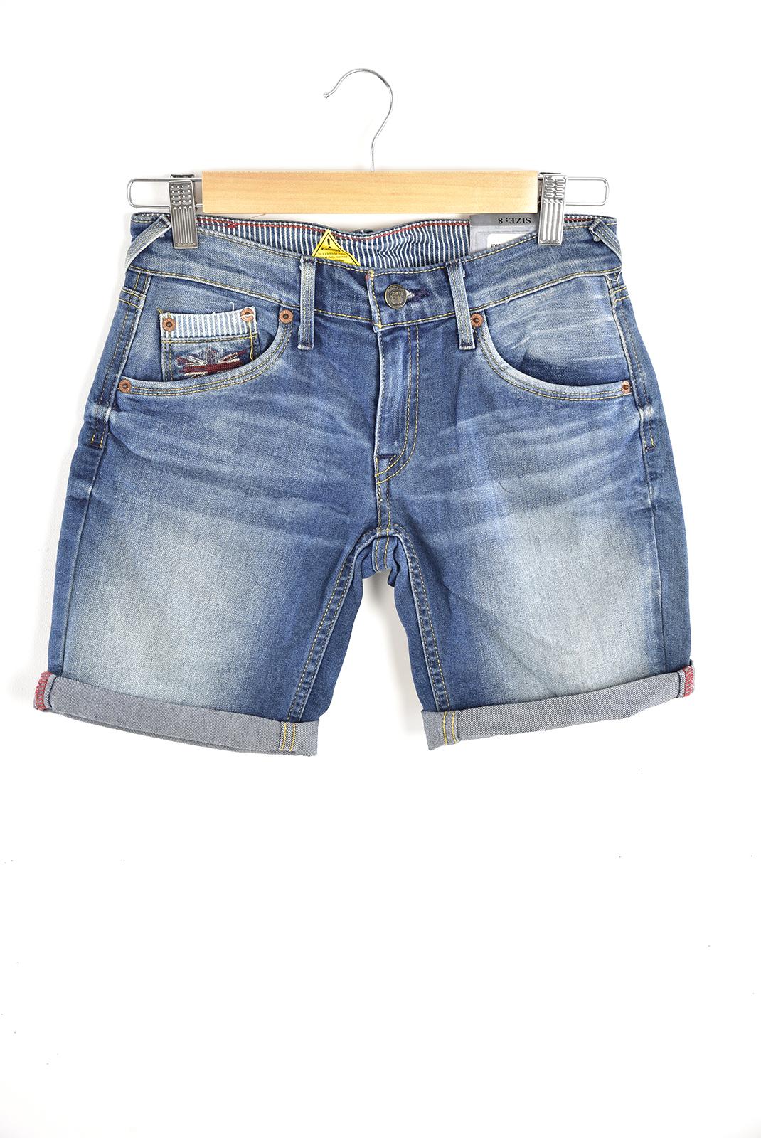 Bas  Pepe jeans PB200453 swenn bleu