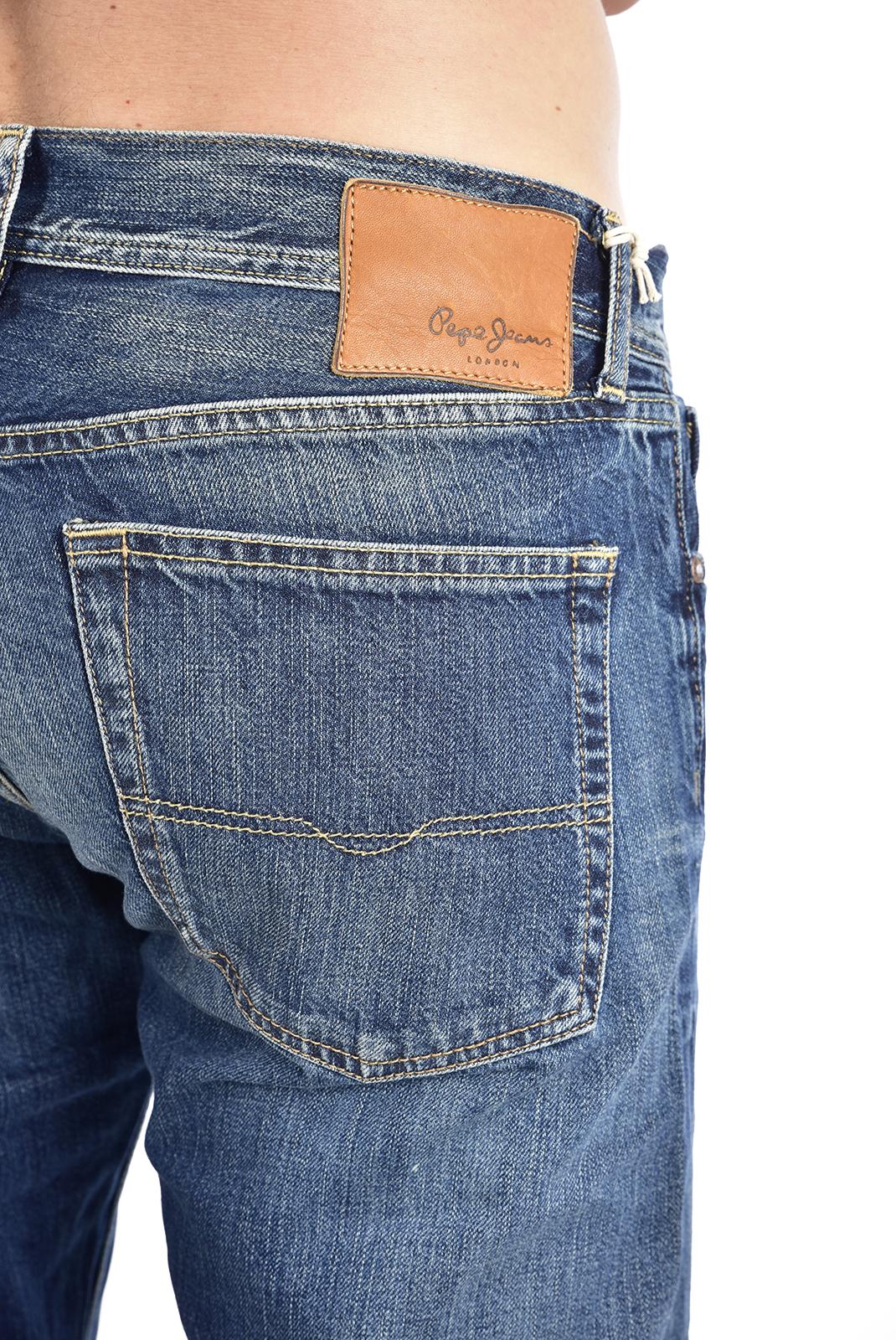droit  Pepe jeans PM200909F112 oxford bleu