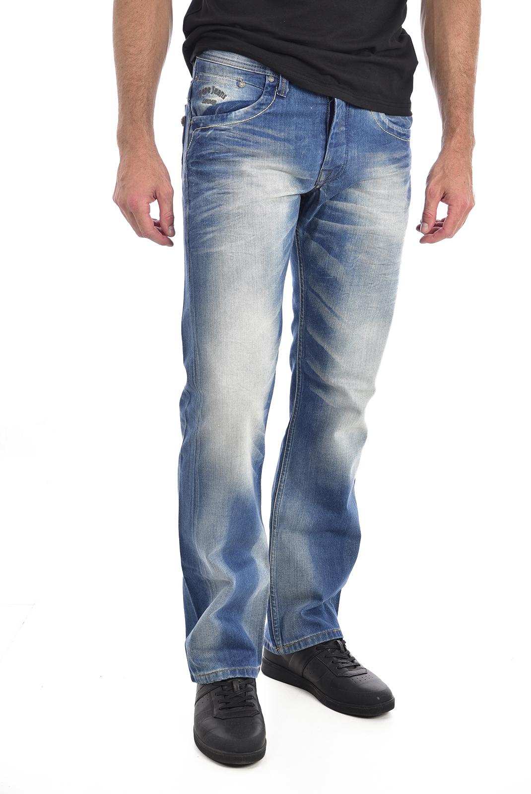 droit  Pepe jeans PM200016L172 JEANIUS bleu