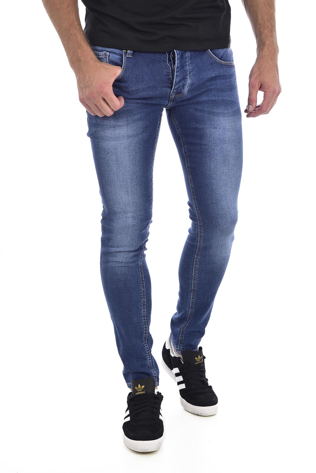 Jeans  Leo gutti L01053 bleu