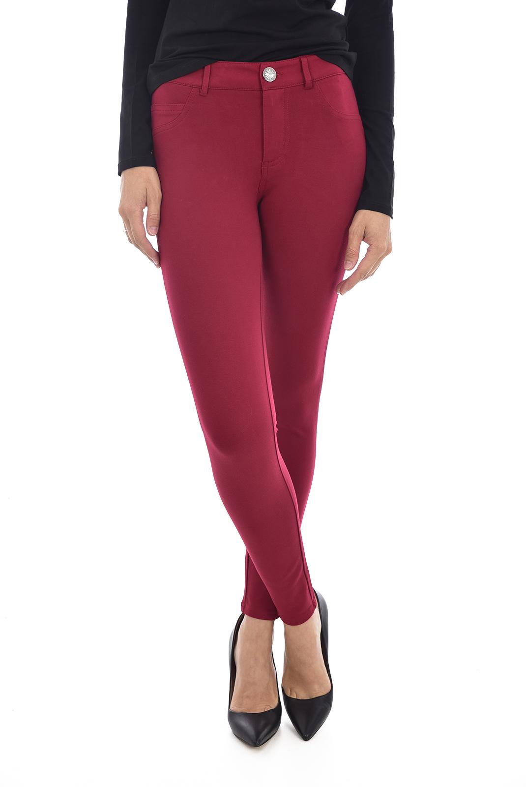 Pantalons  Guess jeans W94AJ2 K8RN0 curve x RUSSIAN RED