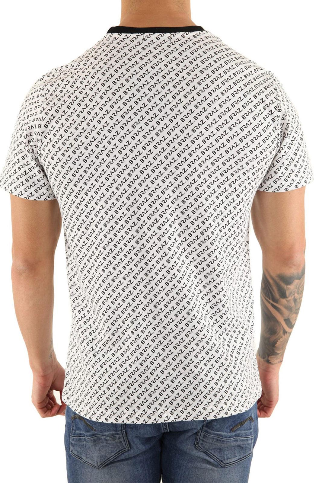 Tee-shirts  Braz T-SHIRT BR 213229 WHITE