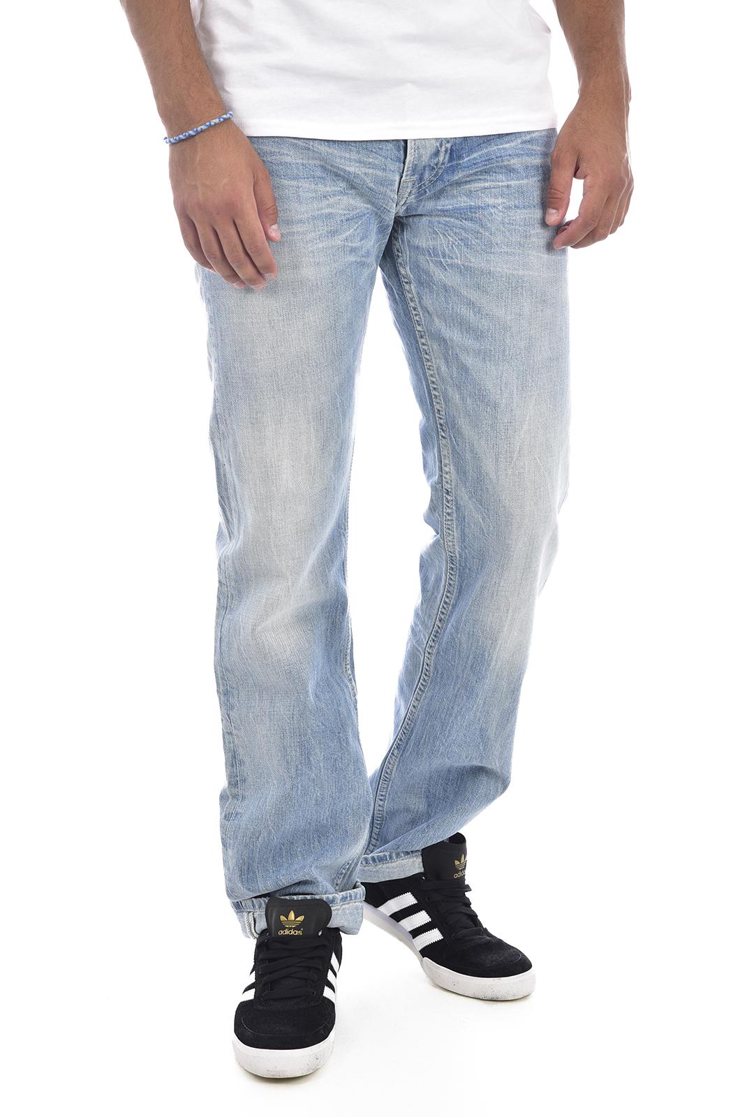 droit  Pepe jeans PM200909B27 OXFORD bleu