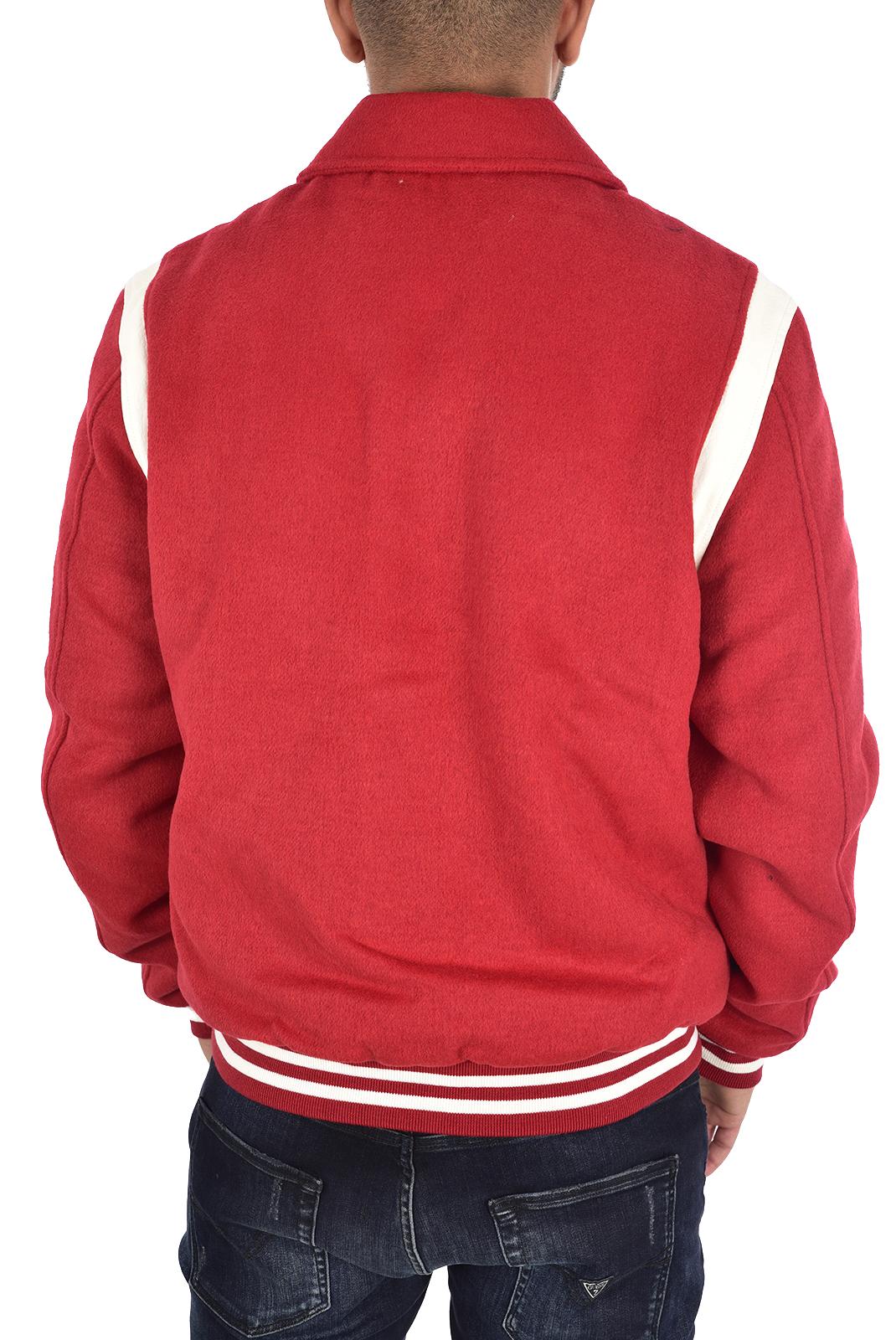 Blousons / doudounes  Guess jeans M94L63 WC2S0 ROUGE/TULIP RED