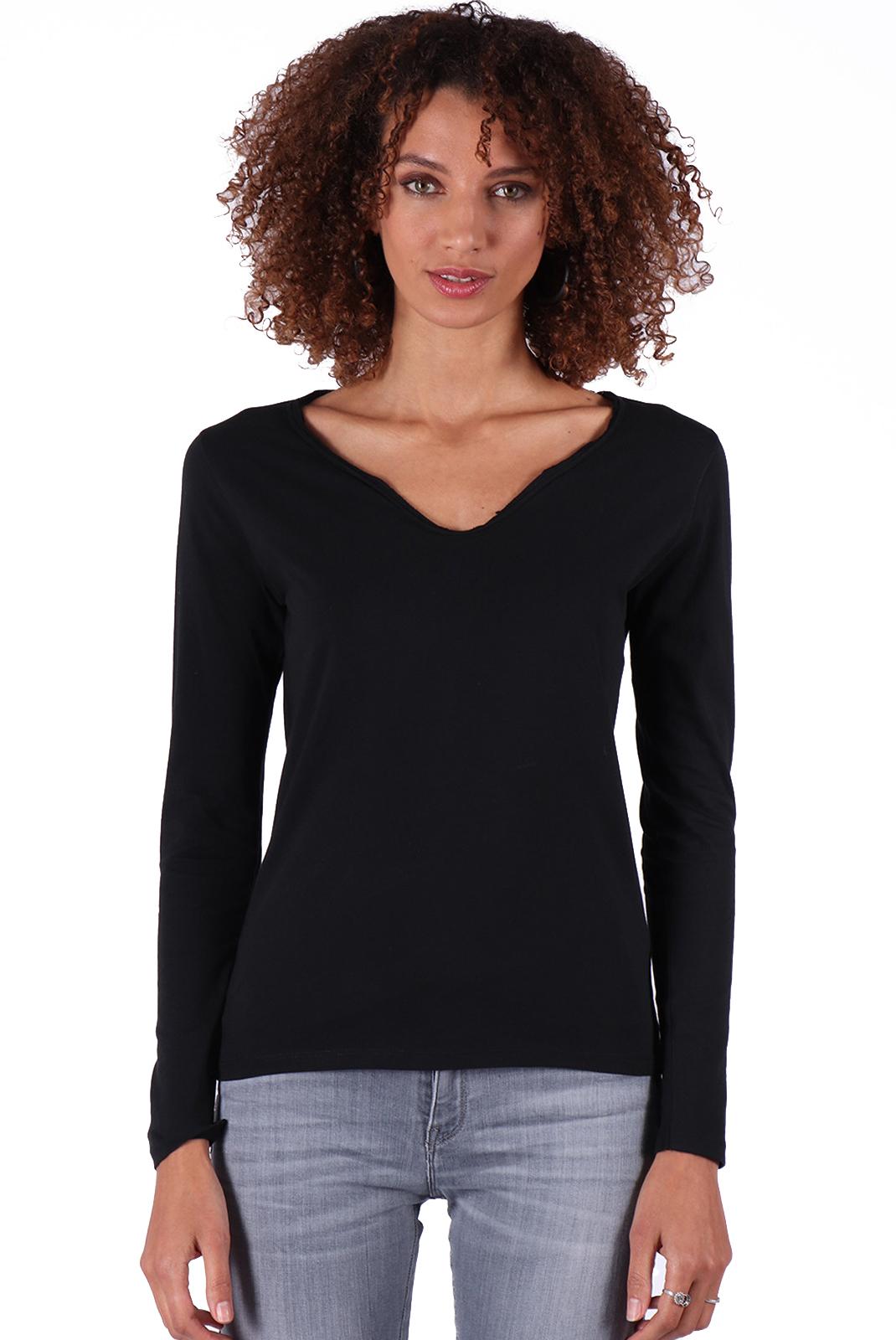Tee shirt manches longues  Kaporal BOUND BLACK