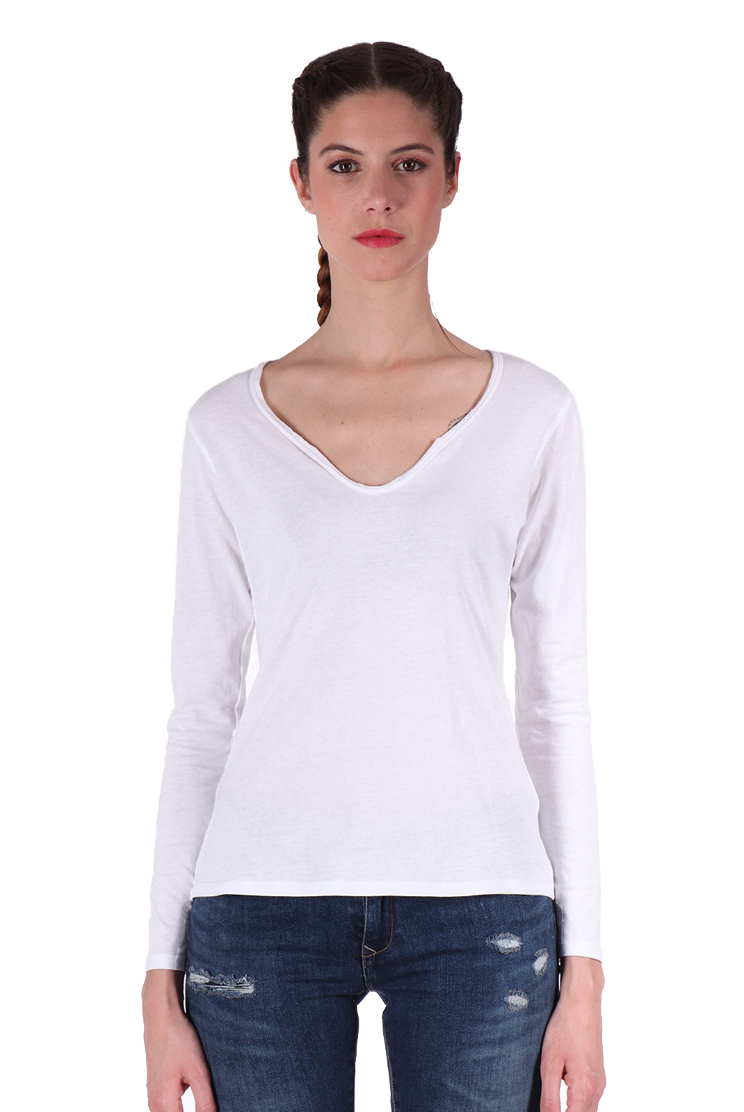 Tee shirt manches longues  Kaporal BOUND WHITE