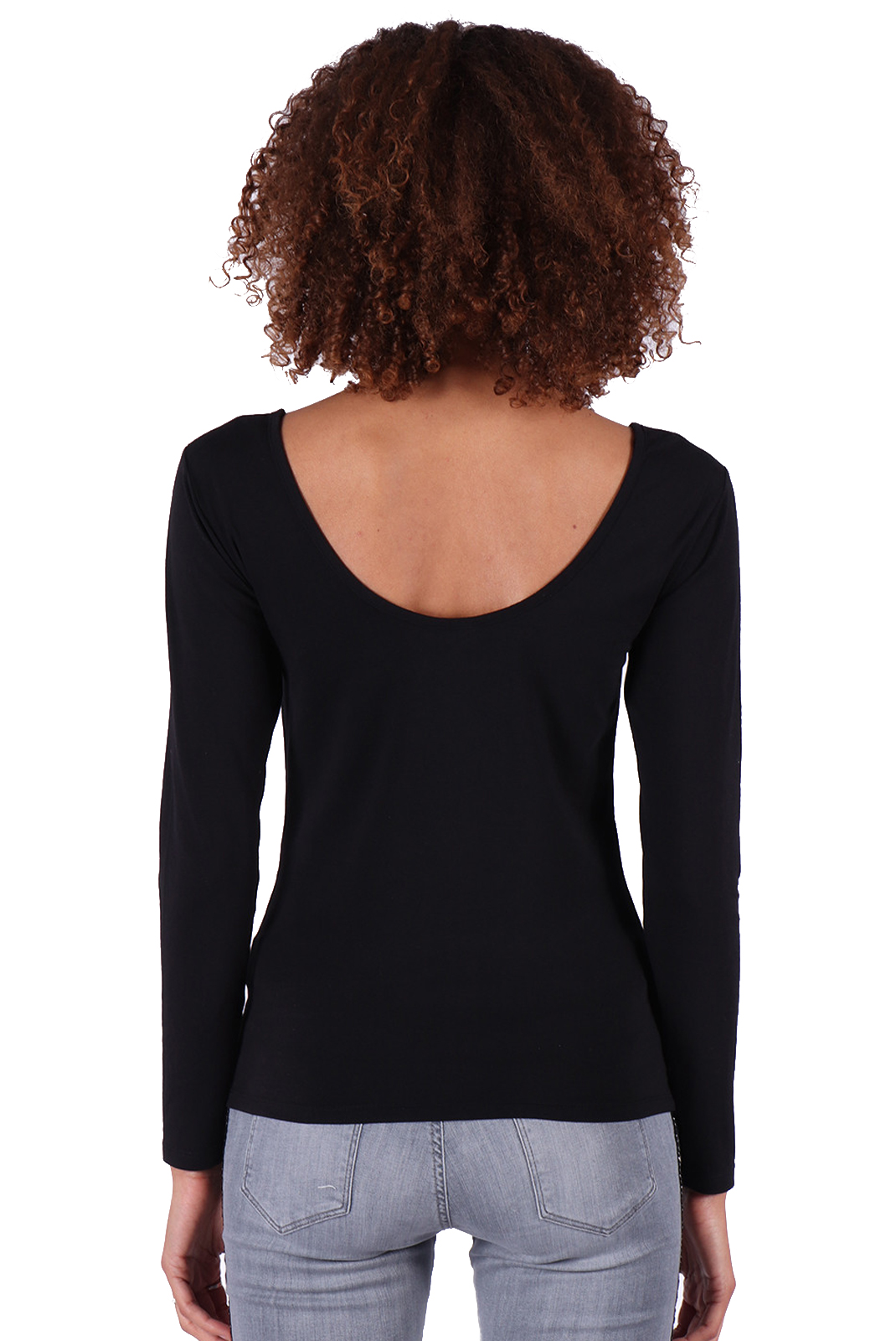 Tee shirt manches longues  Kaporal BUITS BLACK