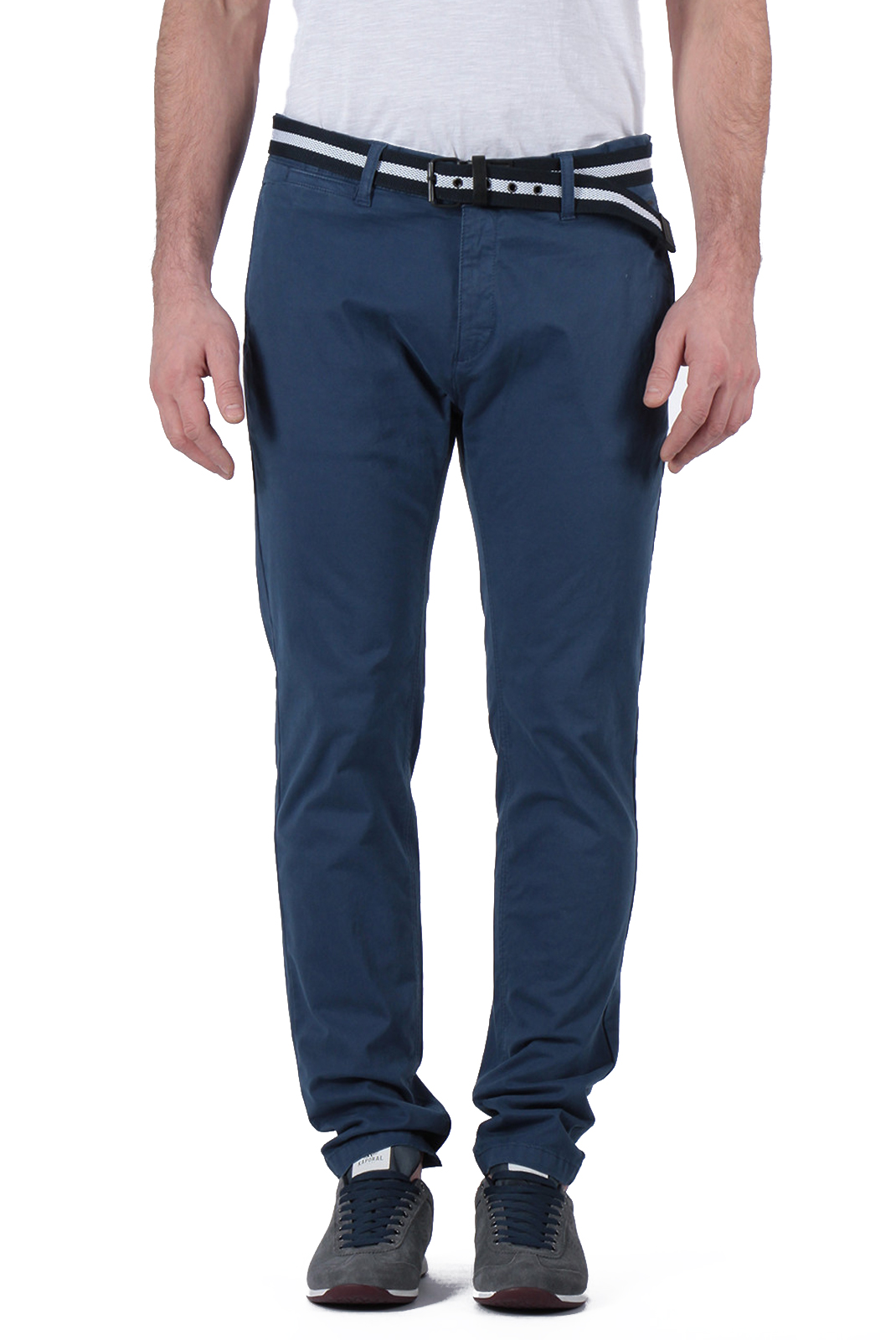 Pantalons chino/citadin  Kaporal ROULA BLUE US