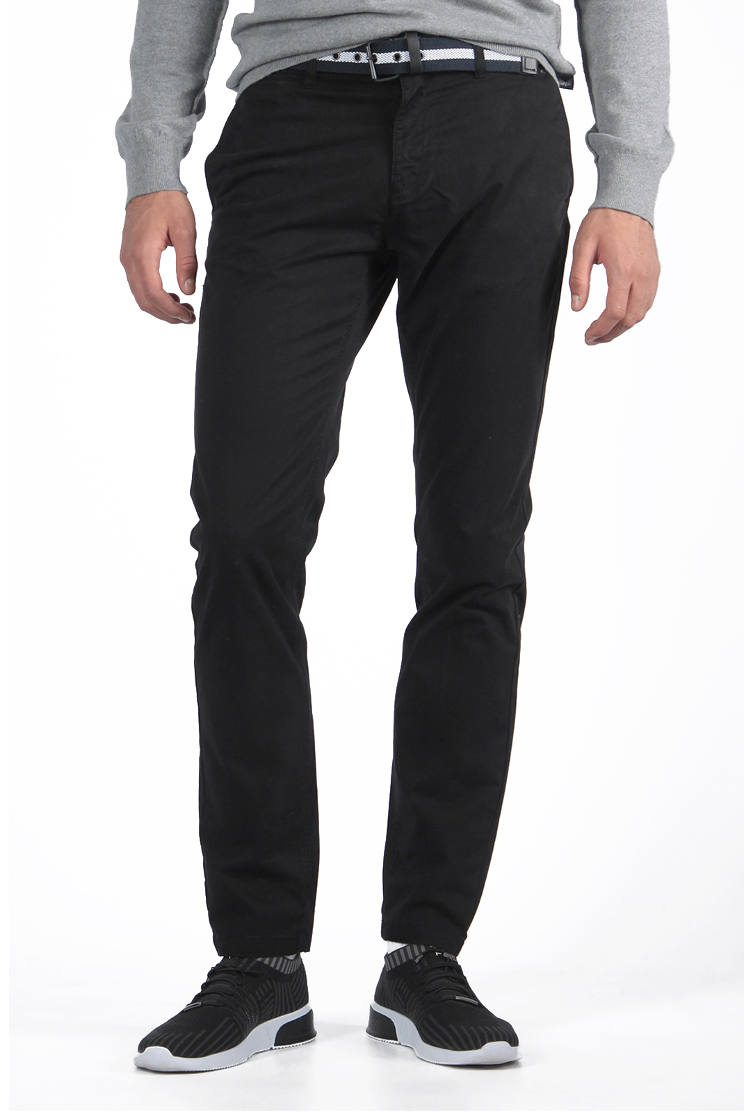 Pantalons chino/citadin  Kaporal ROULA BLACK