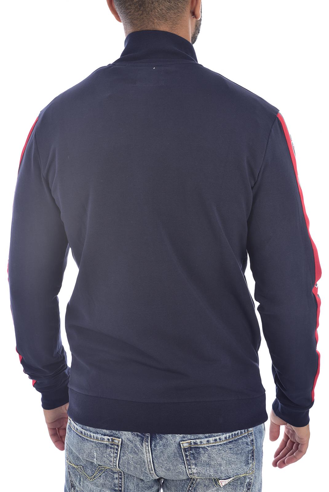 Vestes zippées  Guess jeans U94Q00 K6XF0 LNEC BLEU