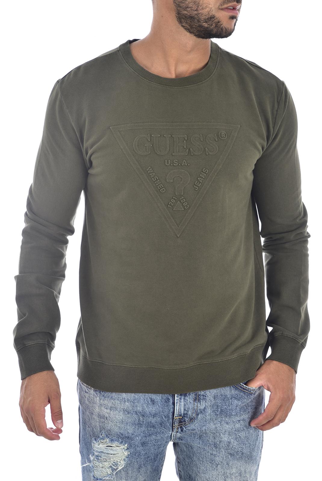 Pulls & Gilets  Guess jeans M94Q35 K92C0 G8G9 HUNTER GREEN