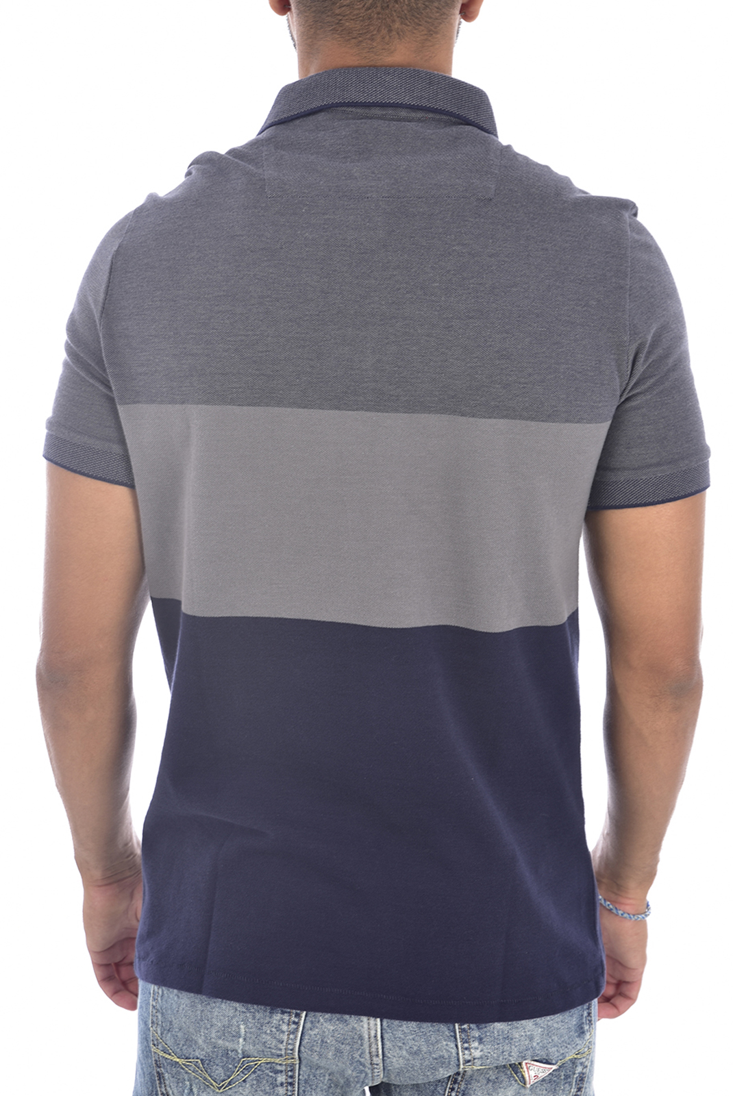 Polos  Guess jeans M94P24 K93N0 F79Y GREY AND BLUE FADE
