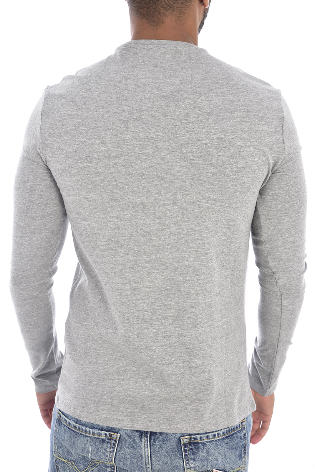 Tee-shirts  Guess jeans M94I34 J1300 STONE HEATHER GREY