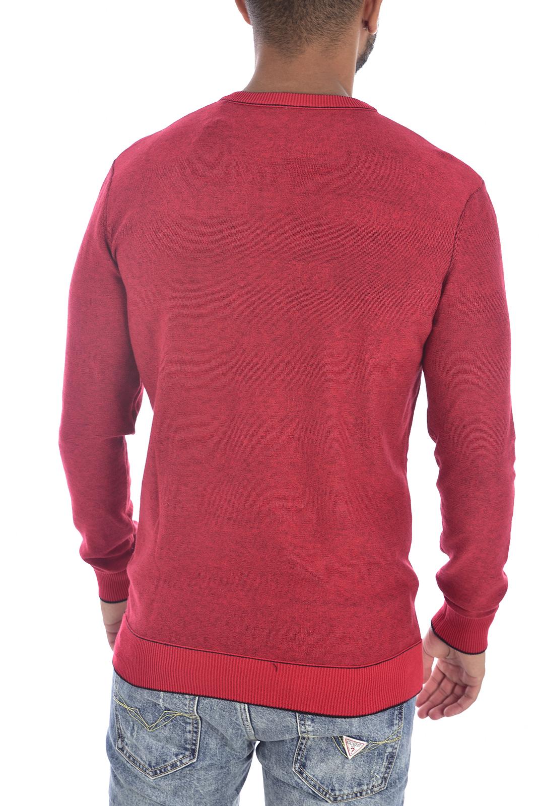 Homme  Guess jeans U94R06 ZZ03E FZI5 ROUGE NOIR