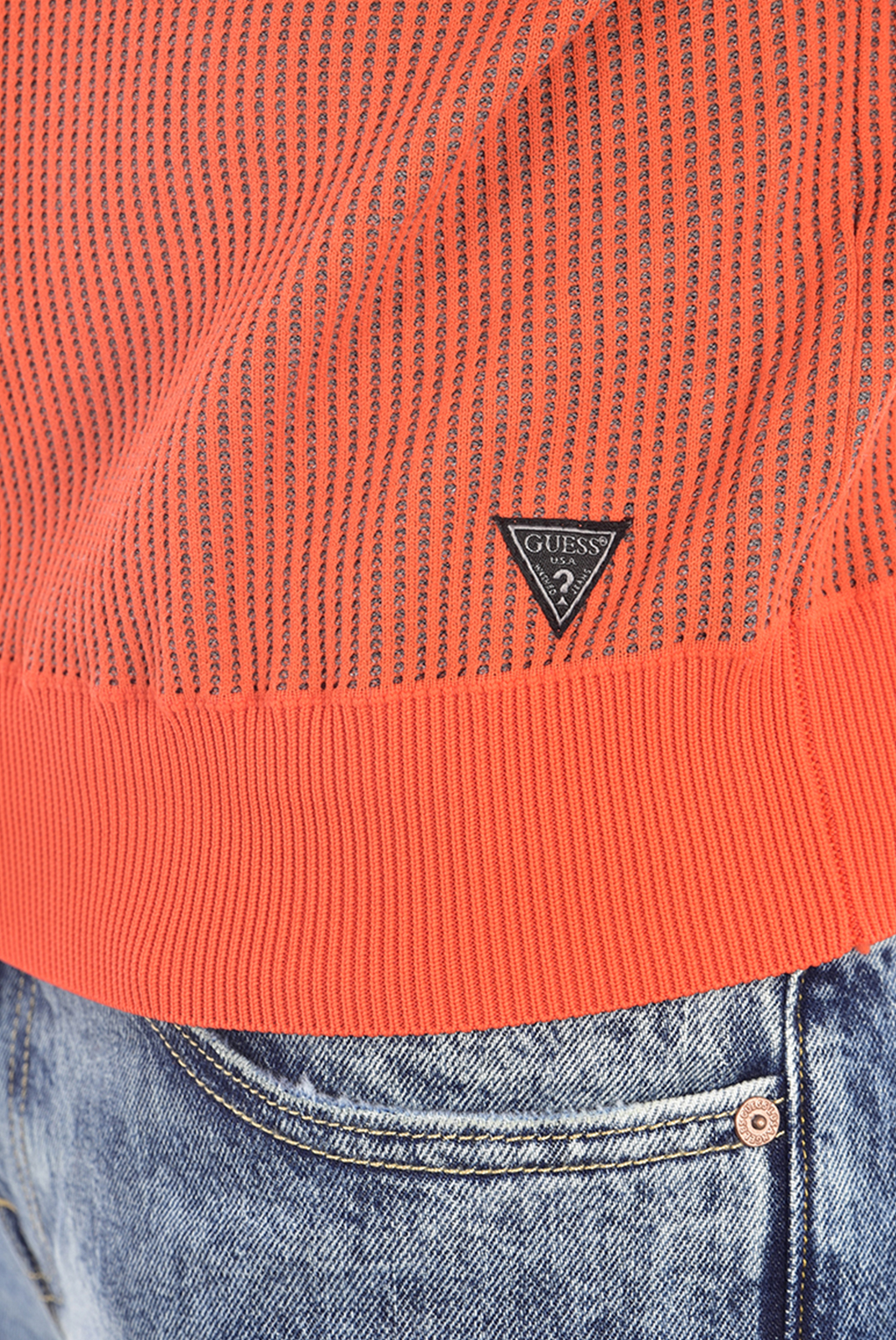 HOMME  Guess jeans U94R01 ZZ03C MNRD ORANGE