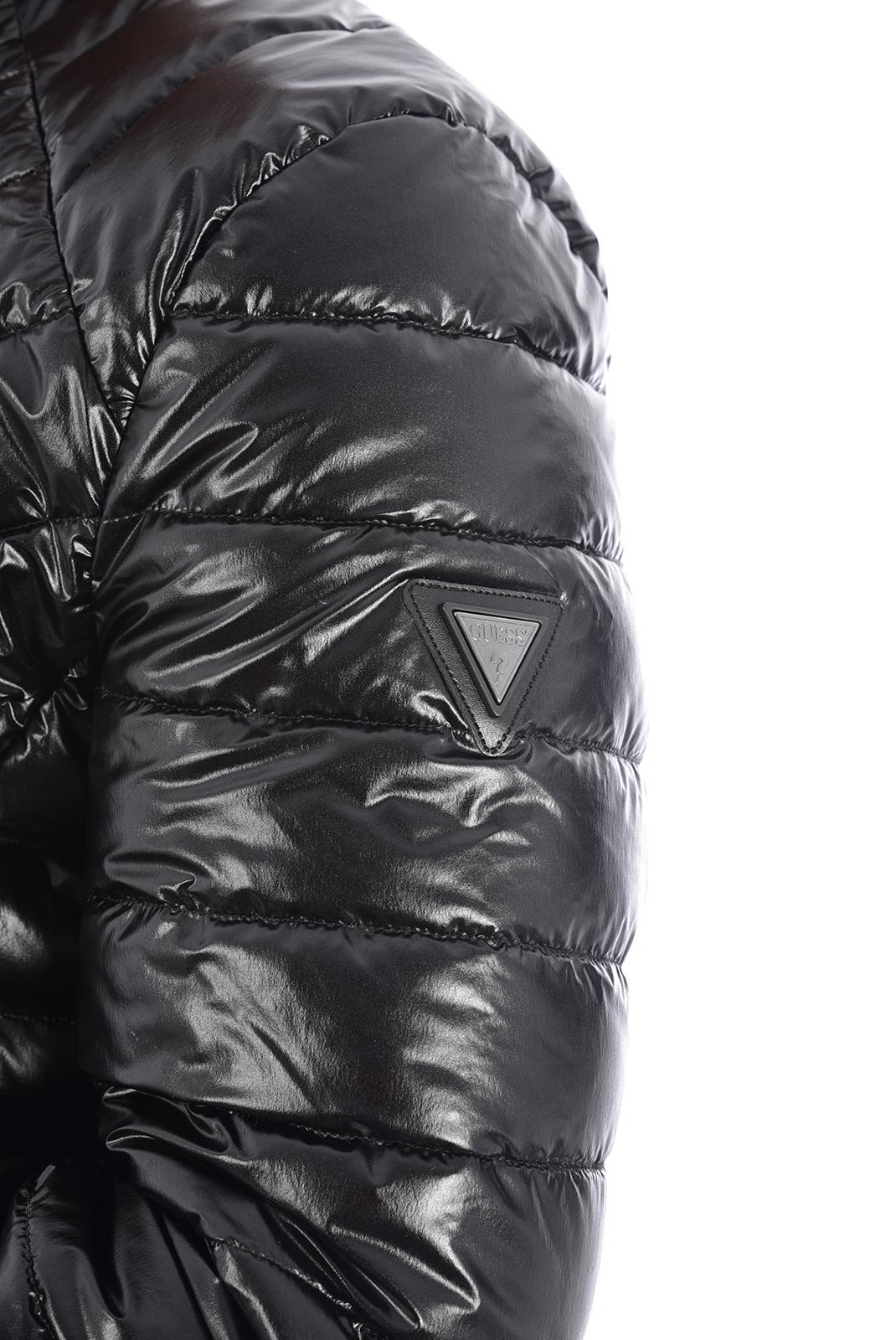 Blousons / doudounes  Guess jeans M94L05 WC270 Jet Black A996