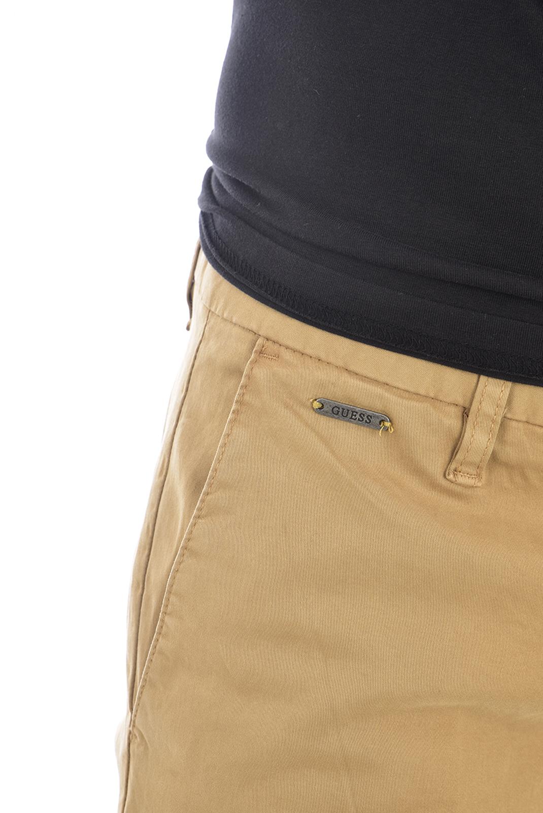 Pantalons chino/citadin  Guess jeans M94B29 WC7Y0 DANIEL B175 REGAL KHAKI