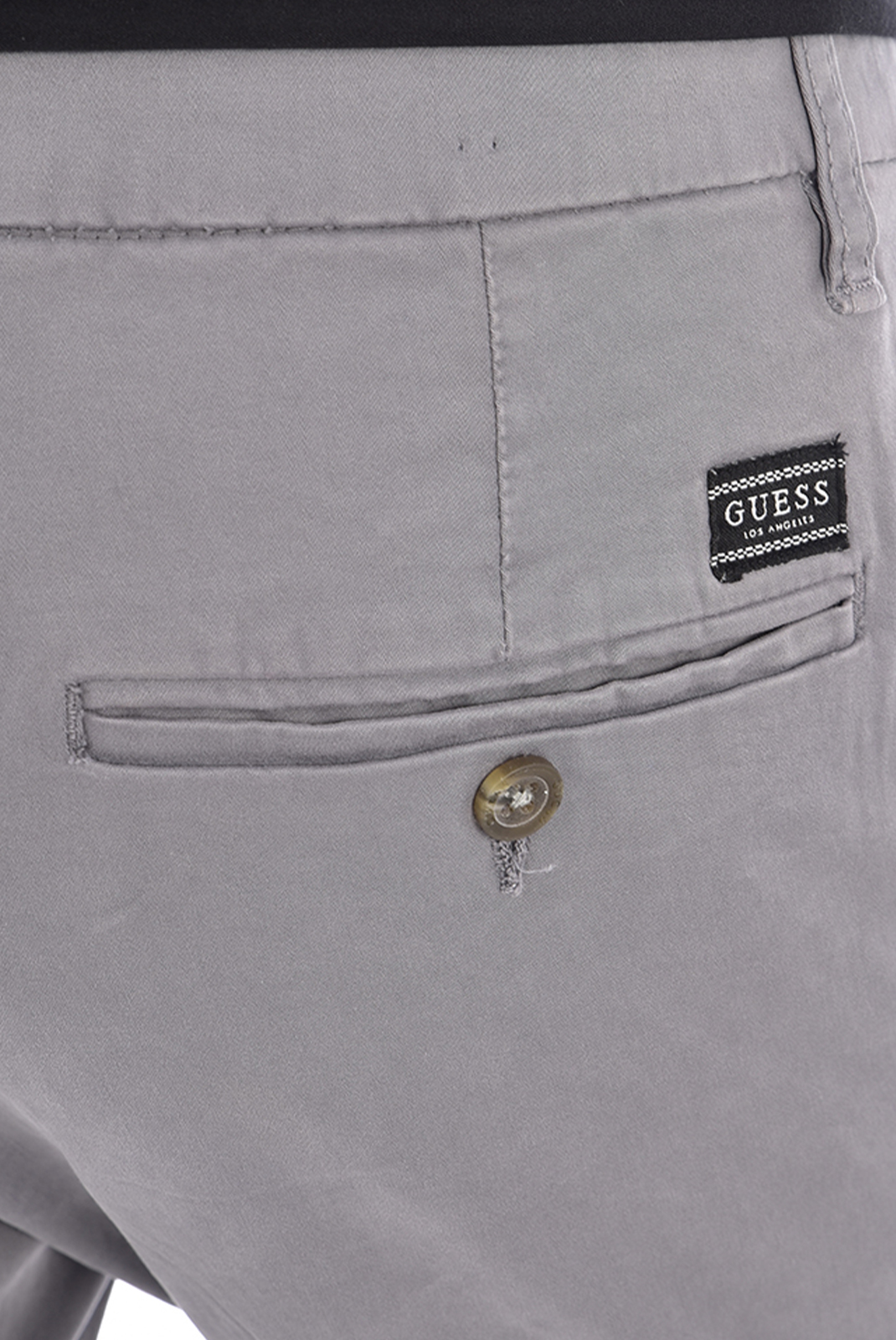 Pantalons chino/citadin  Guess jeans M94B29 WC7Y0 DANIEL G9E0 WOLF SKIN